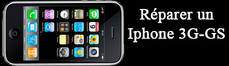 Reparation Iphone 3G 3GS Toulouse - ecran cassee
