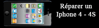 Reparation Iphone 4 4S Toulouse - ecran cassee