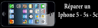 Reparation Iphone 5 Toulouse - ecran cassee